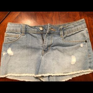 Crazy 8 Denim Shorts Girls Sz 10